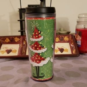 2005 Starbucks Christmas Travel Mug
